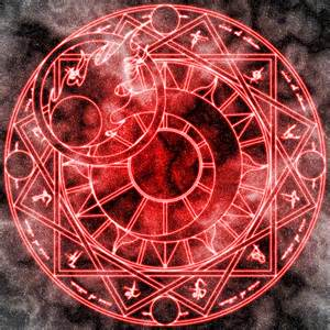 Anime Magic Circle Symbol