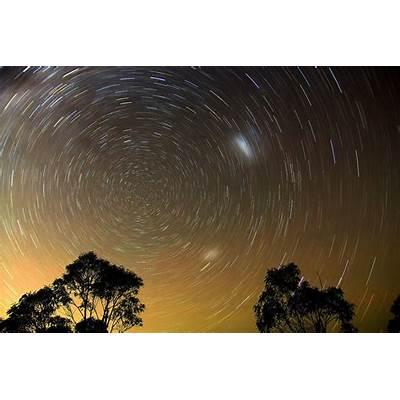 Star Trail Photo Hints at Hidden Polestars - Universe Today