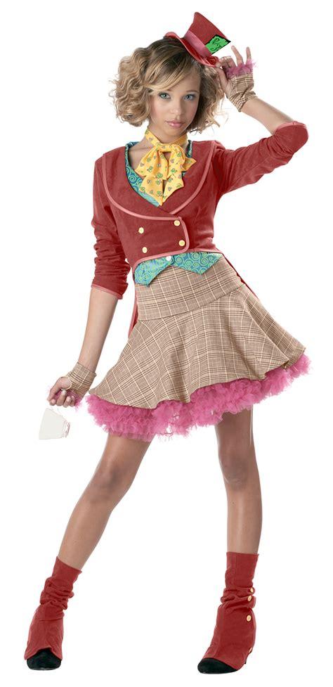 The Mad Hatter Teen Girls Costume Costumescomau