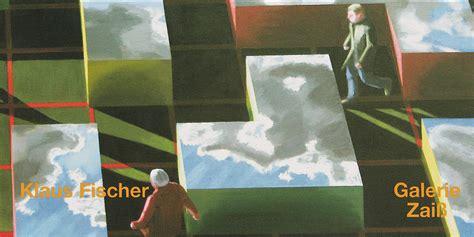 Mensch Im Raum by Klausfischer Malerei