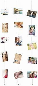 Drahtseil An Wand Befestigen : your design magnetische foto leine mit 8 mini magneten 3er set ~ Markanthonyermac.com Haus und Dekorationen