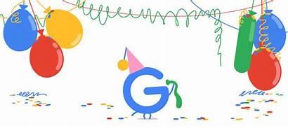 Google Birthday Celebration Surprise Spinner 19th 18th