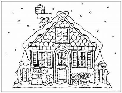 Gingerbread Coloring