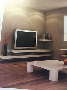 Meuble Sous Tv Suspendu : les 25 meilleures id es de la cat gorie meuble tv suspendu sur pinterest tv suspendu meuble ~ Teatrodelosmanantiales.com Idées de Décoration