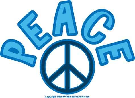 Peace Clipart Free Peace Sign Clipart