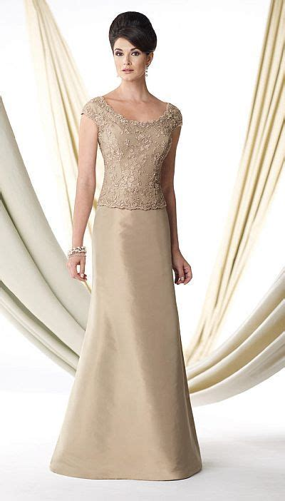 ivonne   cap sleeve silk taffeta mothers gown
