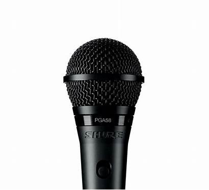 Microphone Shure Cardioid Dynamic Vocal Pga58 Transparent