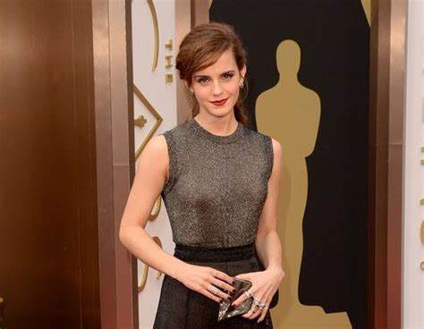 Emma Watson From Oscars Red Carpet Arrivals News