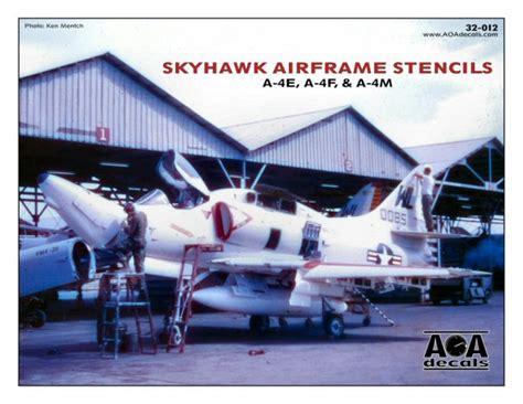 aoa decals         skyhawk airframe