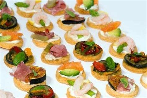 canapes finger food canapés recipe 101 just a pinch recipes