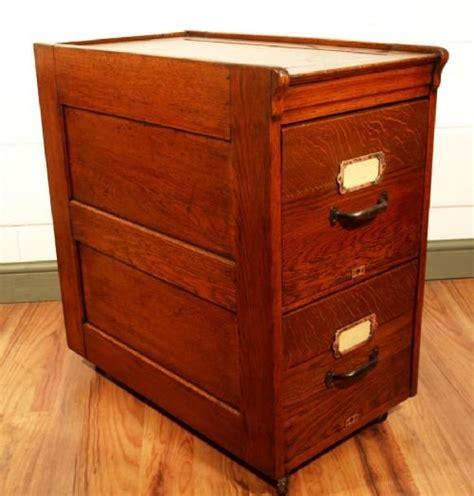 oak two drawer file cabinet antique oak 2 drawer filing cabinet 129016
