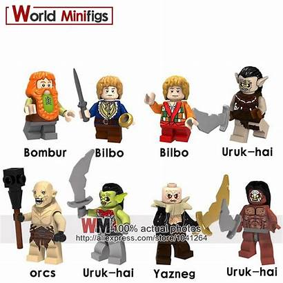 Lord Rings Uruk Hai Orc Yazneg Bilbo