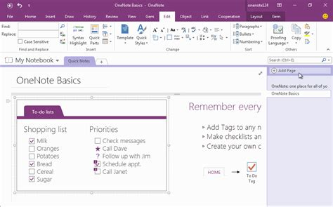 cornell notes template onenote how to use gem s cornell note template with fields in onenote office onenote gem add ins