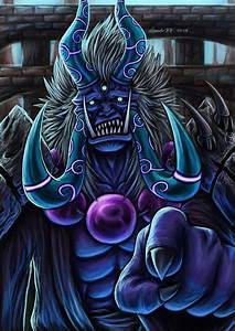 Oni Painting - Enma-Oh by Dark-Emissary on DeviantArt