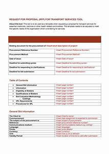40 best request for proposal templates examples rpf With 3pl rfp template