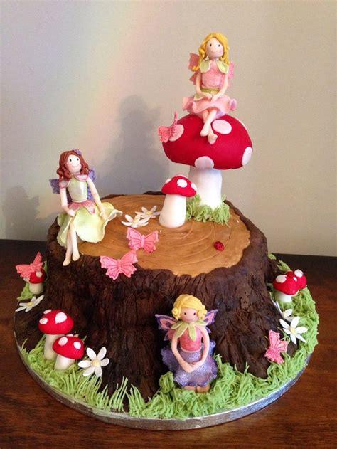 fairy garden cake ideas  pinterest fairy