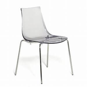 Chaise Transparente Alinea : chaise empilable transparente transparent olivia meuble chaises tables et chaises salon ~ Teatrodelosmanantiales.com Idées de Décoration
