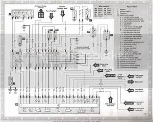 Wiring Diagram For The Instrument Cluster    Dash Problem