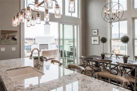 White Ice Granite In An Eclecic Kitchen  Decoist
