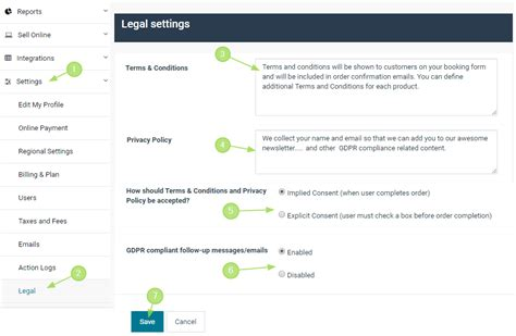 How To Set Up The Legal Page (terms & Conditions, Privacy