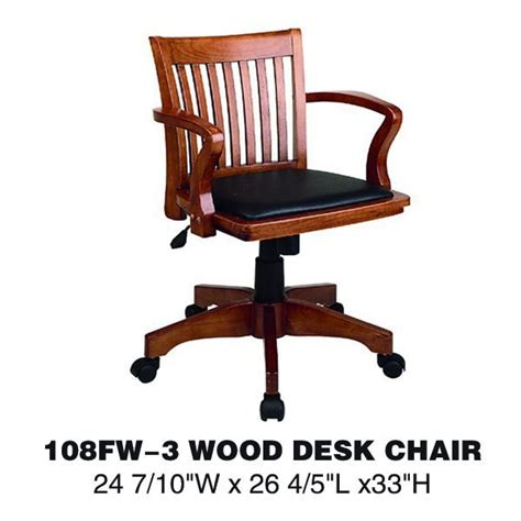 luxury wooden executive office chair swivel chair wheel