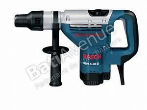 Perforateur Bosch Sds Max : bosch outillage marteau perforateur avec sds max gbh 5 ~ Edinachiropracticcenter.com Idées de Décoration