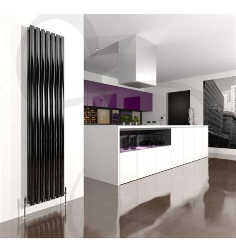 contemporary radiators for kitchens the danza stylish vertical high output radiator 5744