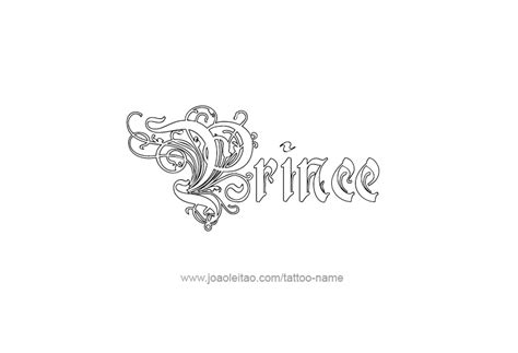 prince  tattoo designs