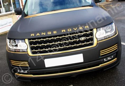 black and gold range rover shiny black and gold cars black matt range rover vogue