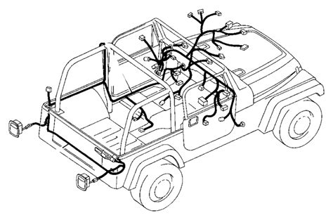 Are 1990 And 1994 Jeep Wrangler Wiring Harness Connection by 56009377ae Jeep Wiring Hardtop Factory Chrysler Parts
