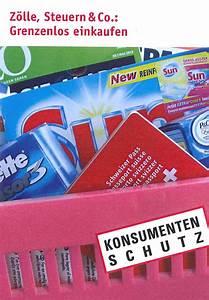 Steuern Berechnen 2014 : e ratgeber z lle steuern und co grenzenlos einkaufen stiftung f r konsumentenschutz ~ Themetempest.com Abrechnung
