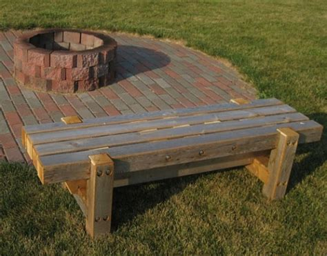 Outdoor Fire Pit Benches  Outdoor Furniture Design And Ideas