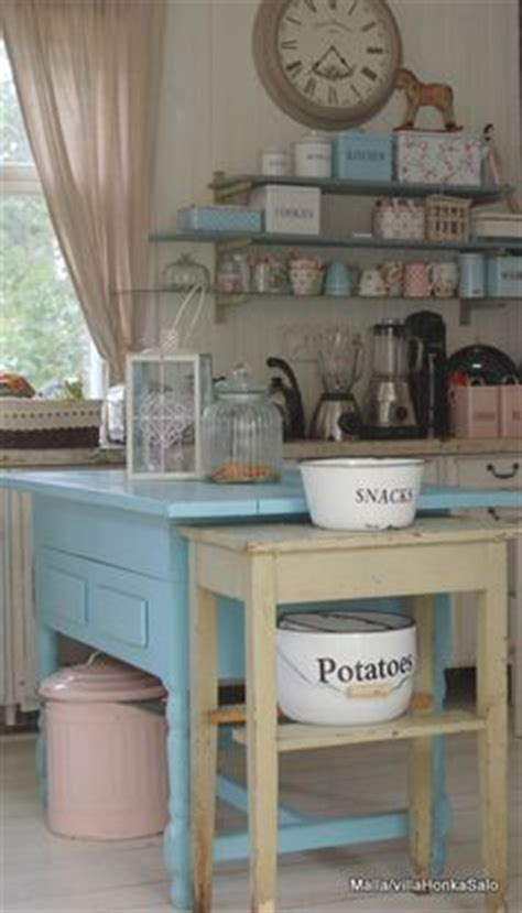 blue shabby chic kitchen house lovely lady lair on pinterest alphabet wall cards bow garland and vintage sheets