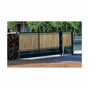 Portail Sur Mesure : portail autoportant en acier s rie industriel ~ Melissatoandfro.com Idées de Décoration