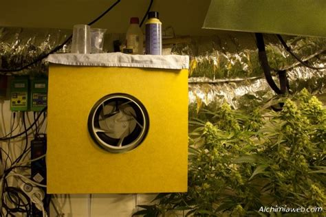 extracteur d air chambre de culture la ventilation de la culture de cannabis du