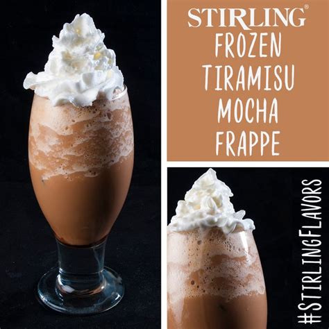 The only logical use for my coffee was a decadent mousse. Frozen Tiramisu Coffee   Recipe   Frozen tiramisu, Mocha frappe, Coffee ingredients