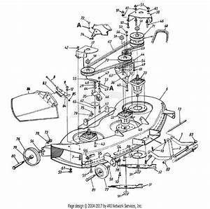 Mtd 14as845h372  1998  Parts Diagram For Deck H