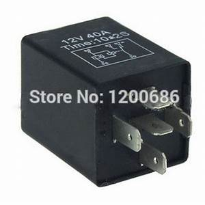 Aliexpress Com   Buy Automotive 12v 5 Pin Time Delay Relay Spdt 10 Second On Delay Relay 3