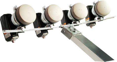 4 fach lnb 4 fach multifeed schiene f 252 r 4 lnb 40mm stahl verzinkt z b triax gibertini ebay