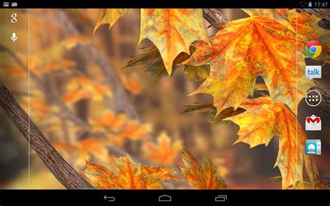 Falling Leaves Live Fall Backgrounds by Autumn Tree Live Wallpaper Android Apps On Play