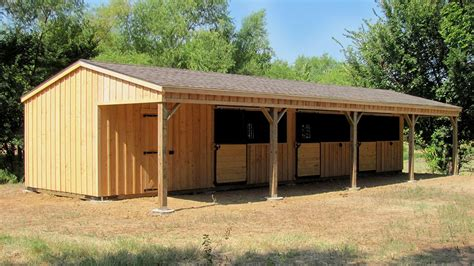 cattle run in shed portable shelters livestock shelters run in