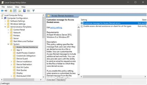 administrative templates managing central store for policy administrative templates in windows