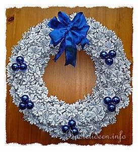 Kranz Aus Tannenzapfen : weihnachtskr nze basteln weihnachtsbasteln ~ Michelbontemps.com Haus und Dekorationen