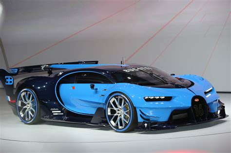 Bugati Car : Bugatti Vision Gran Turismo Hints At Chiron