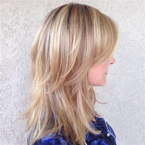 medium length hairstyles  easy shoulder