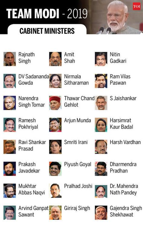 Current List Of Cabinet Ministers by Modi Cabinet Ministers Oath Live Pm Modi Begins Second