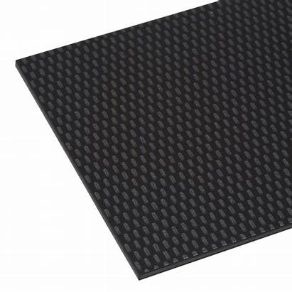 Sheet Abs Carbon Acrylic Rod Gloss Capped