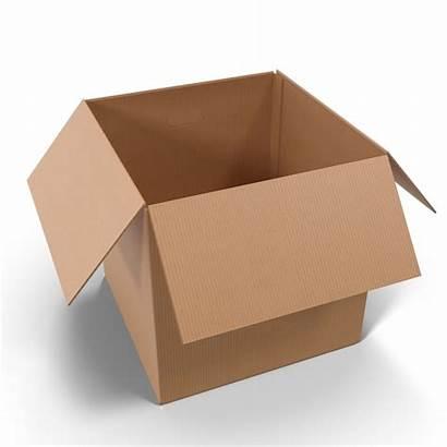 Box Cardboard Open Packaging Transparent Collections Pixelsquid