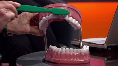 teeth brushing       clean bbc news