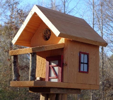 Homemade Simple But Fancy Bird House Plans ? AWESOME HOUSE